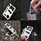 Мультивизитка ключ 11 в 1, фото 2