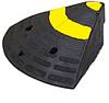 Боковой элемент резинового пандуса (L300хH150хW350 мм)