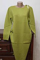 Плаття жіноче однотонне з гудзиками