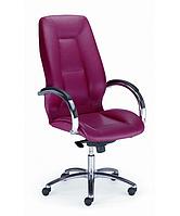 Кресло для офиса руководителя ФОРМУЛА стил хром