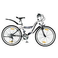 """Велосипед Winner 24"""" Amigo 14"""" Черно-белый"""