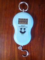 Весы ручные подвесные кантер электронный цифровой безмен, фото 3