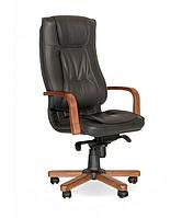 Офисное кресло руководителя ТЕХАС кожаное