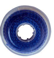 Эластичная цепочка с длинным промежутком синяя