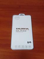 Защитное стекло для смартфона Samsung Galaxy S6, фото 1