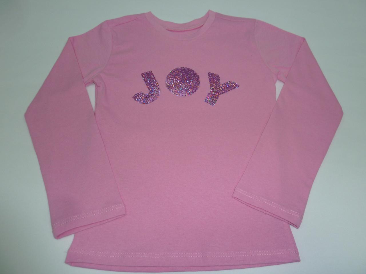Футболка для девочки с пайетками JOY