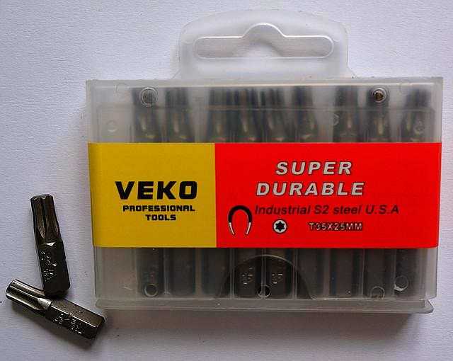 Биты VEKO T35*25 мм (20 шт. в упаковке)