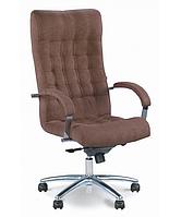 Офисное кресло директора ЛОРД стиль хром