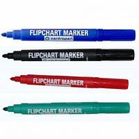 Маркер Flipchart 8550 2,5 мм круглый зеленый