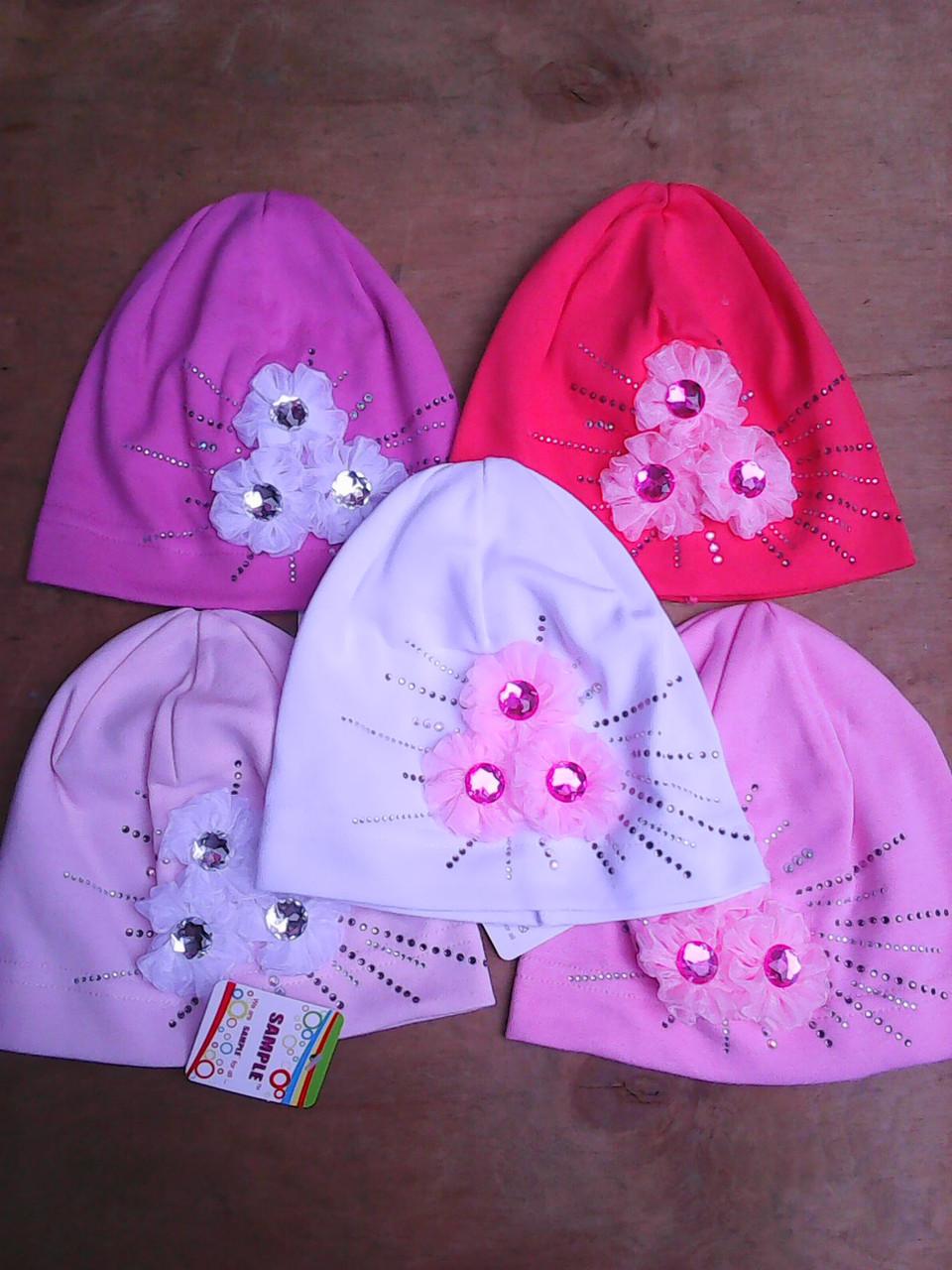 шапочка для девочки трикотажная лучик - babystile в Одессе
