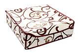Коробочка на 24 секции c крышкой Молочный Шоколад, фото 2