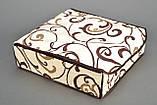 Коробочка на 24 секции c крышкой Молочный Шоколад, фото 3