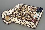 Коробочка на 24 секции c крышкой Молочный Шоколад, фото 4