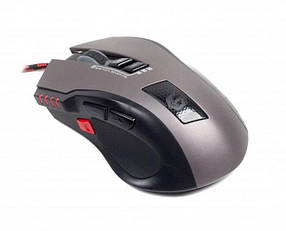 Мышь компьютерная проводная Gembird MUSG-004 Black/grey