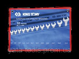 Ключи рожковые 6-32мм (комплект 12 шт.) KINGTONY 1112MRN
