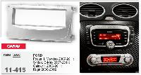 Рамка переходная Carav 11-415 Ford Focus II, Mondeo, S-Max, C-Max, Galaxy II, Kuga Silver