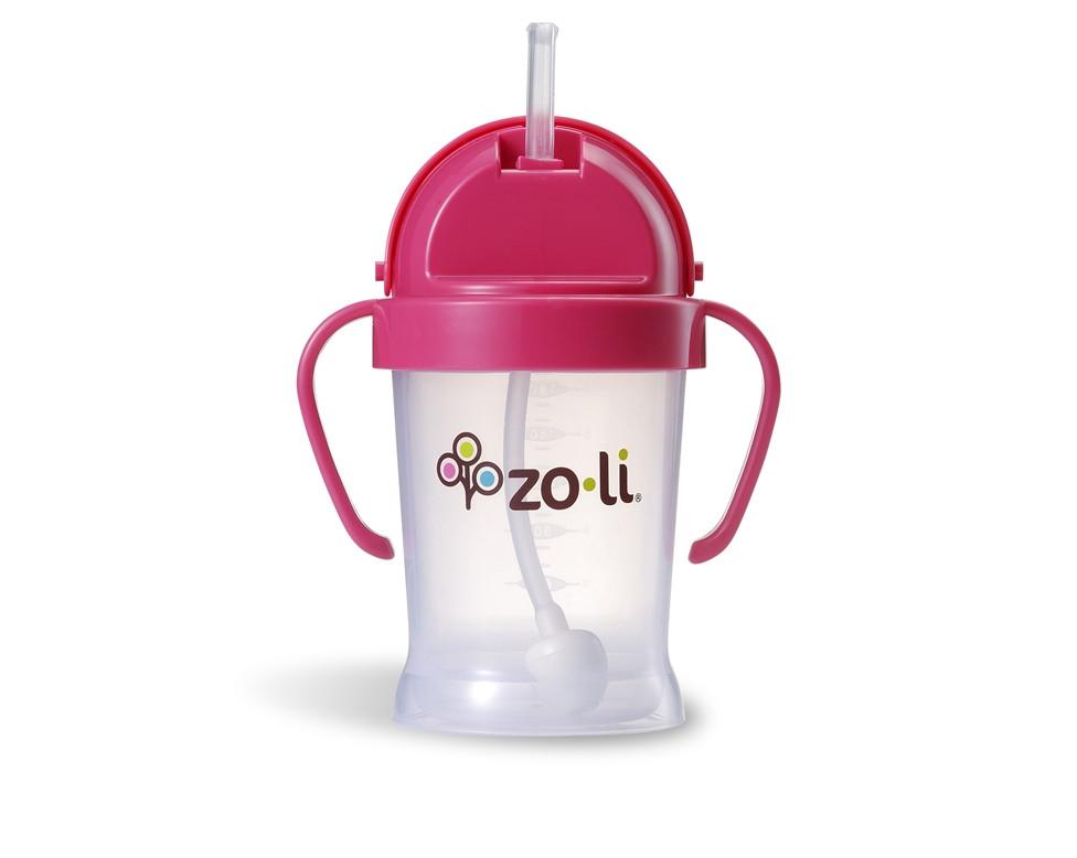 Поильник BOT - Pink  180 ml, Zoli