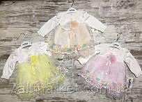 """Платье детское нарядное с бабочками на девочку 6-12 мес (3цв) """"BEAUTY"""" купить недорого от прямого поставщика"""
