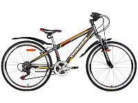 """Велосипед Winner 24"""" AVATAR рама 12"""" серый"""