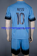 Футбольная форма Барселона Месси, третий комплект сезон 2015/2016