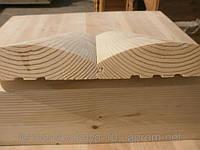 Блок-хаус сосна 135*40 мм, сорт АВ