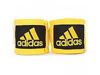 Бинты боксерские Adidas Yellow 3.55 м (ADIBP03)