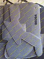 Текстильные коврики в салон на Skoda Octavia A5 (Шкода Октавия А5)