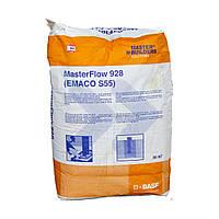 MasterFlow 928 -  безусадочная быстротвердеющая мелкозернистая сухая смесь наливного типа, 25кг