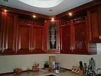 """Кухня """"Marina"""" с деревянными фасадами Drewpol"""