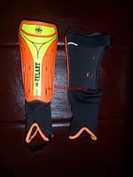 Щитки футбольные с защитой лодыжки ZELART