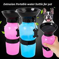 Бутылка для животных с поилкой PET BOTTLE 500 мл FoxDemo