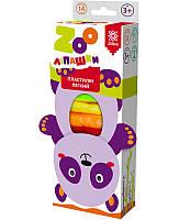 Пластилін легкий ZOOліпашки Панда (14 кольорових стіків по 6 г) Зірка