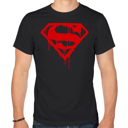 "Футболка ""Кровавый супермен"""