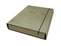 Папки-архиваторы Item 315/10PR 40мм 240х320 короб для НОТАРИУСОВ на резин с планками для пи