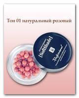 Румяна в шарикаx - Relouis Soft Shade №01 натуральный розовый