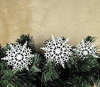 Снежинка 12см