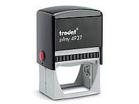 Оснастка для печатей и штампов Trodat 4927 черный Оснастка 60х40мм д/штампа, пласт
