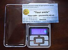 Карманные ювелирные весы 0,01 - 200 гр Pocket scale MH-200, купить Портативные, электронные 200гр, фото 3