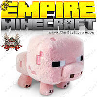 """Королевская Свинка из Minecraft - """"King's Pig"""" - 20 х 16 см."""