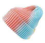 Шапка вязаная разноцветная/ шапка с отворотом /шапка мужская /шапка женская/ подростковая