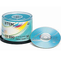 Диск Tdk CD-R 700 MB 80min 52x