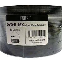 Диски CMC DVD-R 4.7Gb 16x bulk 50 Printable (под нанесение)