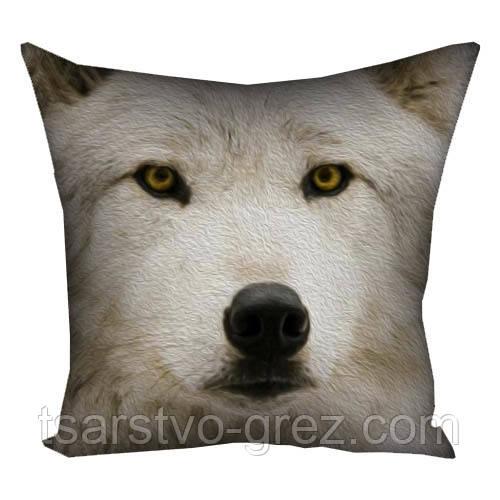 Подушка Волчица