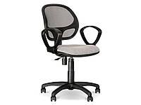 Кресла офисные для персонала нс GTP OH/5 C-11 черный Alfa 60х45х82-95см пласт подлок, спинка-сетка