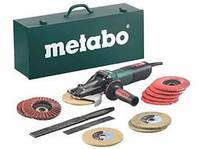 Кутова шліфмашина Metabo WEVF 10-125 Quick Inox Set + набір аксесуарів
