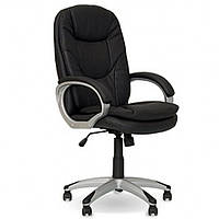 Кресла офисные для руководителей нс ECO-13 коричневый Bonn кожа Eco 72x54x113-122см, пласт-пидлок с наклад