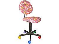 Кресло детское нс GTS YN-5-60 розовый Champion б/подлокотн Neylon с детск ткан