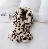 Шарф с животным принтом/ молочный шарф с коричневым животным принтом/ женский шарф