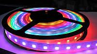 "Пиксельная светодиодная лента ""Digital RGB"" SMD 5050 60 LED/m, RGB RW 1LED IP68 WS2811 PIXEL STRIP, фото 1"
