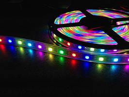 """Піксельна світлодіодна стрічка """"Digital RGB"""" SMD 5050 60 LED/m, RGB RW 1LED IP68 WS2811 PIXEL STRIP"""